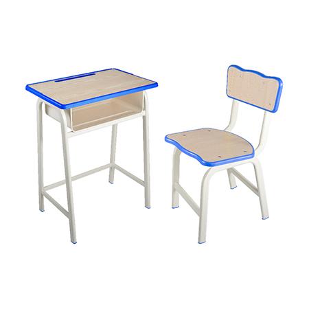 塑料包边面课桌椅-FX-0138