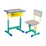 塑料包边面课桌椅 -FX-0135