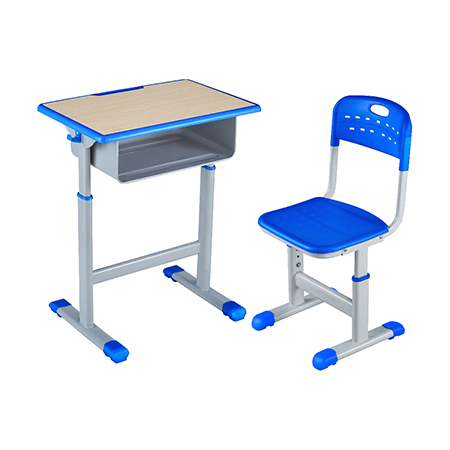 塑料包边面课桌椅-FX-0120