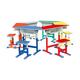 塑料包边面课桌椅-FX-0780