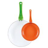 彩色陶瓷煎盘 -HF-02