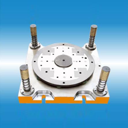 大型发电机转子冲片复合模-