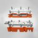 φ56串激电机铁芯级进模-