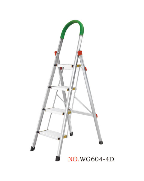 家用不锈钢梯系列-WG604-4D