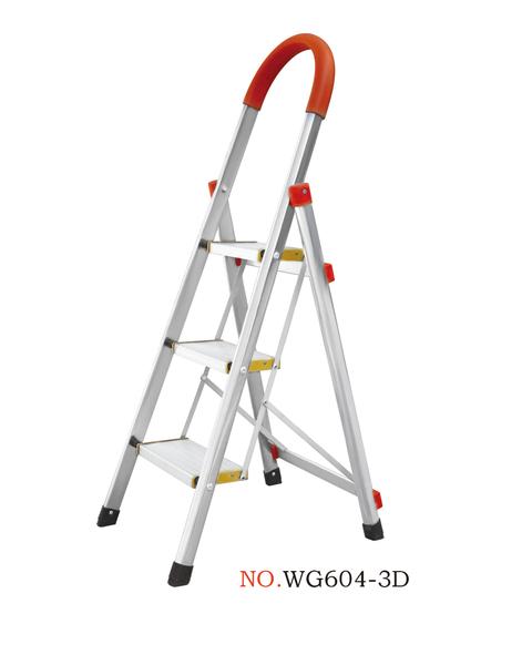 家用不锈钢梯系列-WG604-3D