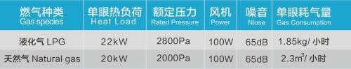 乘龙系列醇油炒灶-WMD-CL2C