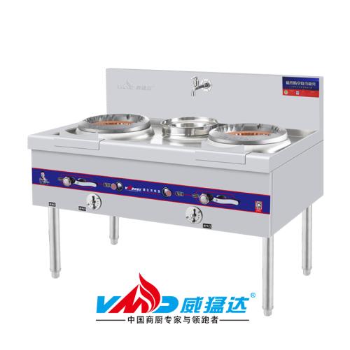 新飞龙系列磁控燃气炒灶二主一付-WMD-XFL2