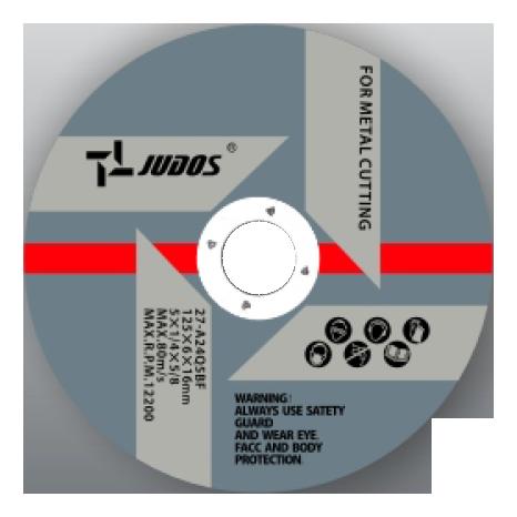 T27 Reinforced Grinding Wheel-YDM6004