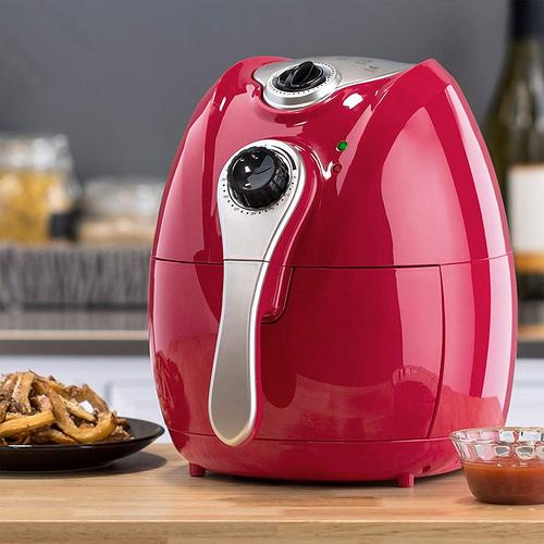 新一代无油空气炸锅 红色 -ZNAF1501