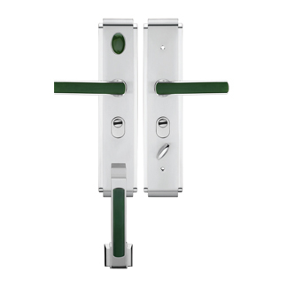 豪华拉手系列(亮镍镶玉)-9911A