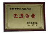 2012年浙江省先进企业
