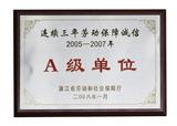 2005-2007年-A级单位