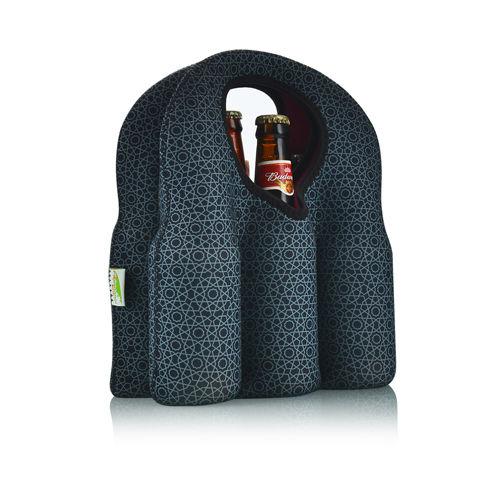 心形提手6瓶装红酒袋-FR-W006B