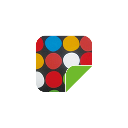 P042黑底大点/绿-P042黑底大点/绿