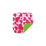P041可爱粉色心/绿 -P041可爱粉色心/绿