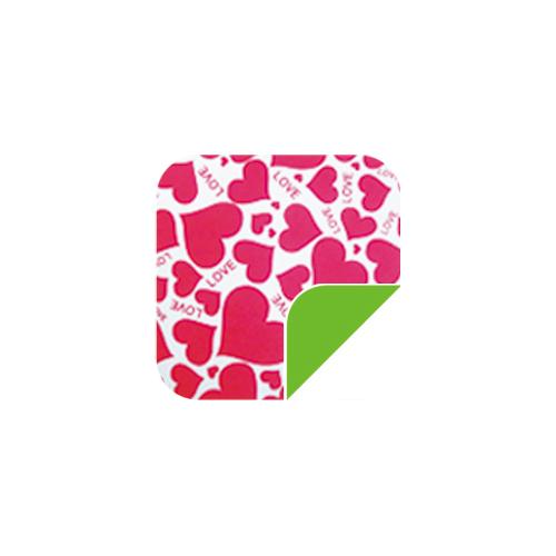 P041可爱粉色心/绿-P041可爱粉色心/绿