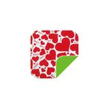 P040可爱红心/绿 -P040可爱红心/绿