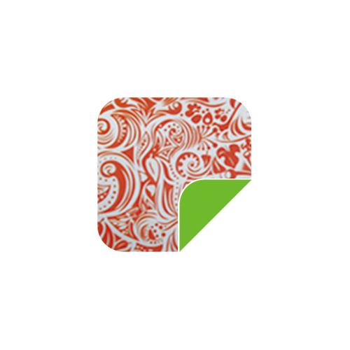 P038橘色图腾/绿-P038橘色图腾/绿