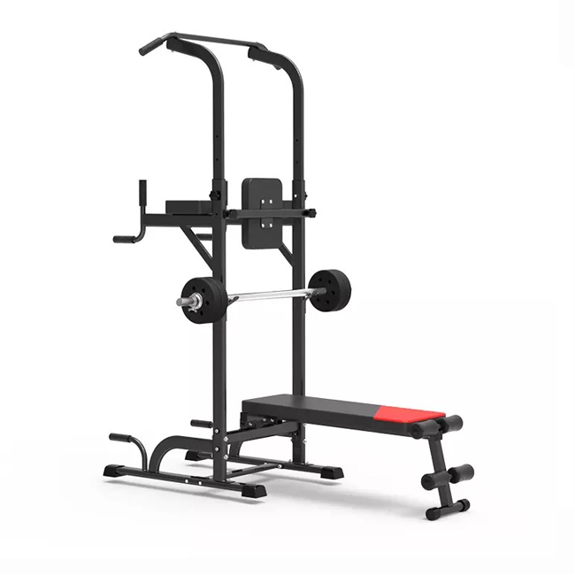 Weight folding multi-purpose Integrated Gym Trainer Pull Up Power Tower GZY-B308S