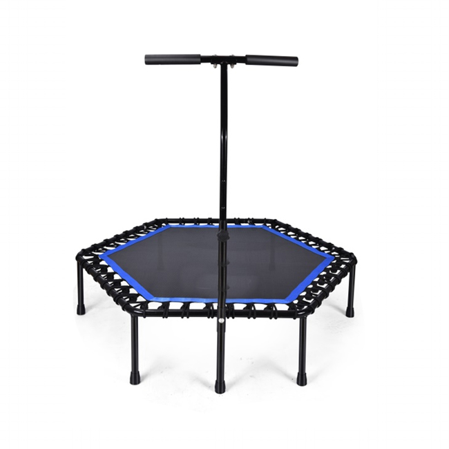 Customized logo home training trampolineGZY-TH006