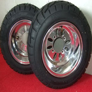 10X8 inch wheel & tyreGZY-M1080P wheel or with tyre