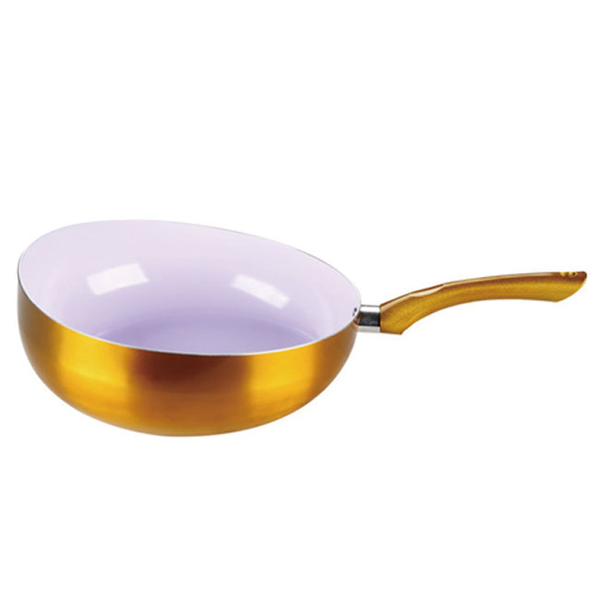 PRESS ALUMINUM WOK 28 CM GZY-HLHG