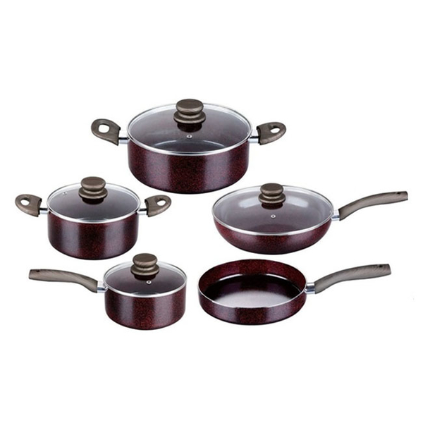 Press Aluminum Cookware Set GZY-9PCS01