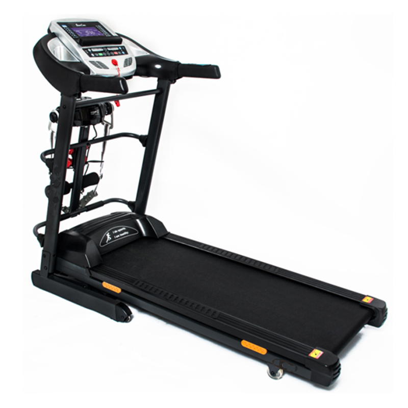 Multi-function Indoor Gym Home Use Fitness Running Equipment DC Motor Electric Motorized TreadmillGZY-DF711