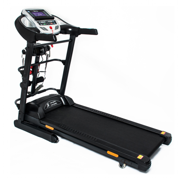 Multi-function Indoor Gym Home Use Fitness Running Equipment DC Motor Electric Motorized Treadmill GZY-DF711
