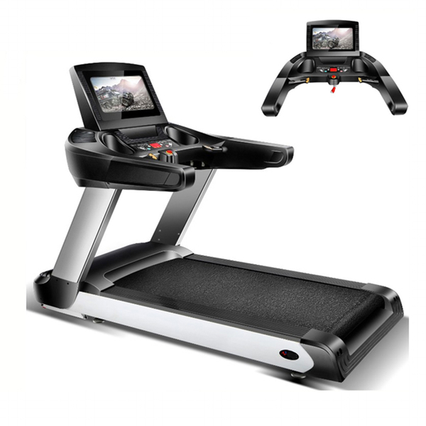 Hot Sale Multi-function Indoor Gym Home Fitness Running Equipment AC Motor Electric Motorized Treadmill GZY-DF21
