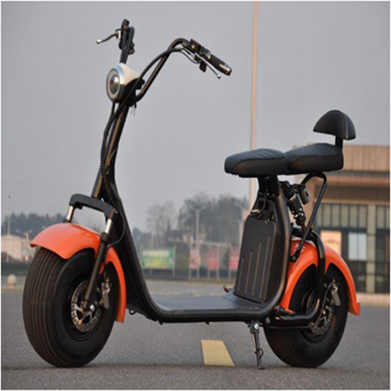 2019 Hot sale 18Inch  Fashion Style Big Wheels 1000W City Coco Electric ScooterGZY-05(X7)