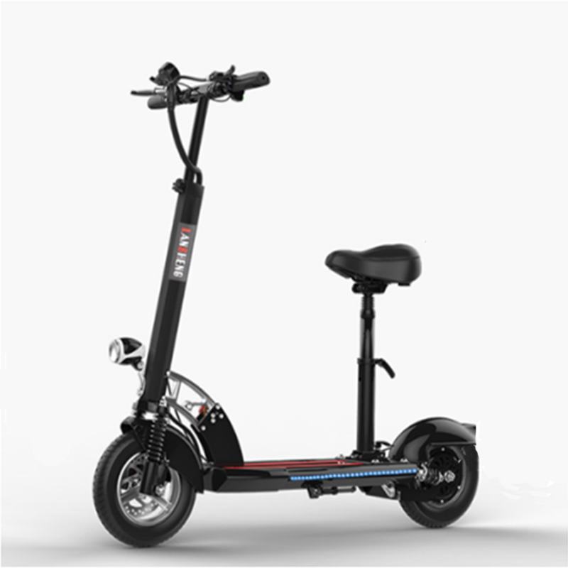 500W Hot sale 10 Inch Foldable  Electric ScooterGZY-9510A(B)