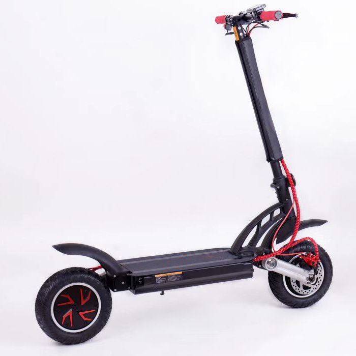 1000W Hot sale 10 Inch Foldable Dual Drive Electric ScooterGZY-9810A
