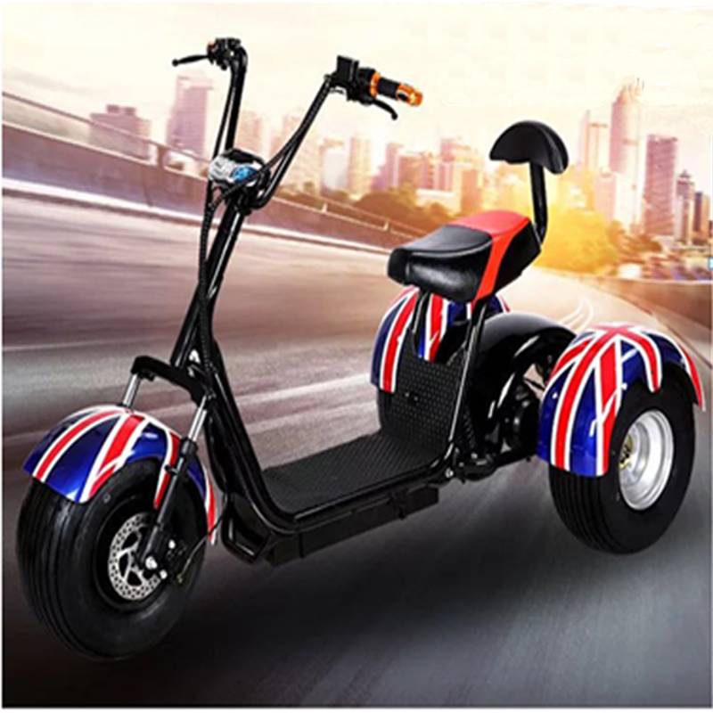 2019 Hot sale 1500w Fashion Adult Big Wheels City Coco Electric ScooterGZY-07