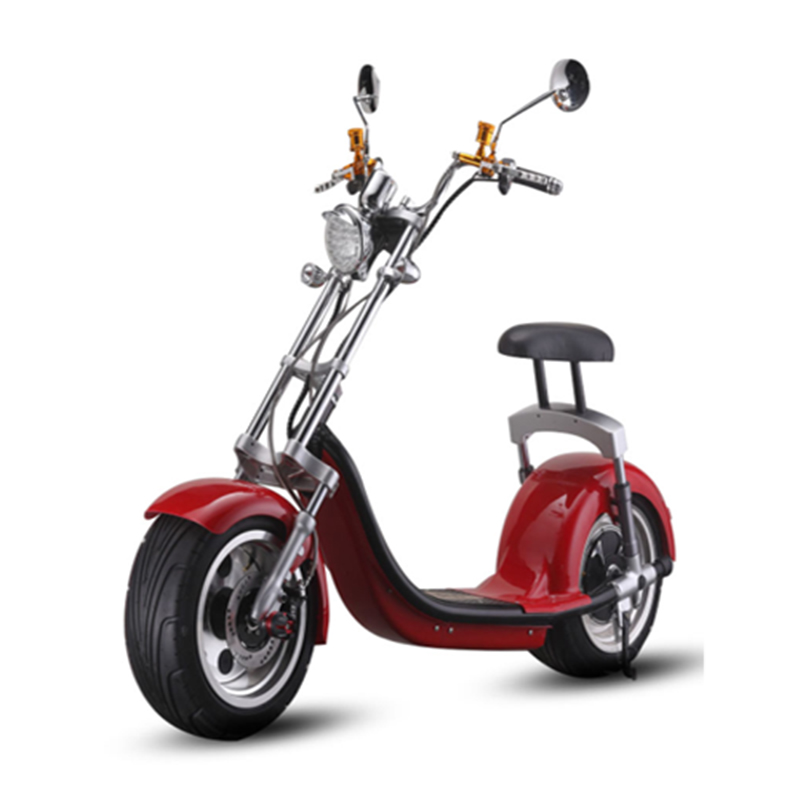 1500w Hot sale 18Inch  Adult  Rubber Tubeless Tire City Coco Electric ScooterGZY-06(X9)