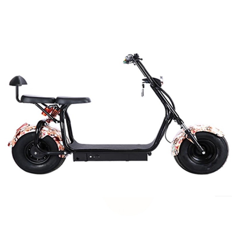 2019 Hot sale 18Inch  Rubber Tubeless Tire Fashion Style City Coco Electric ScooterGZY-02