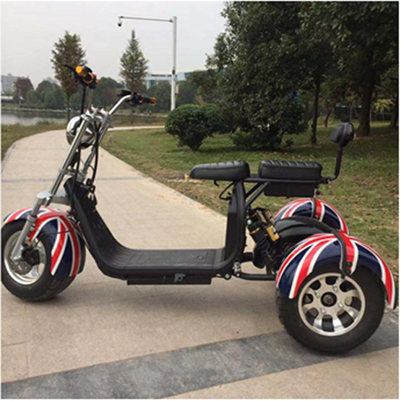 Hot sale 18Inch  Adult Big Wheels 1500W City Coco Electric ScooterGZY-08