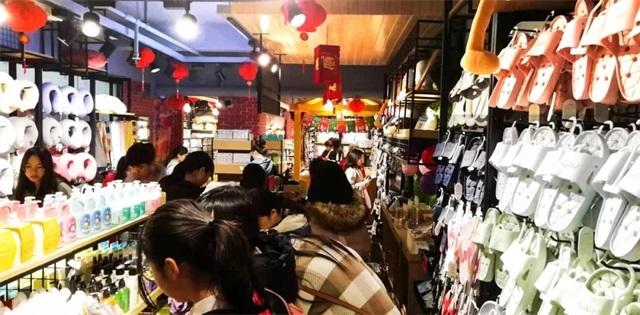 韩尚优品的加盟店人气